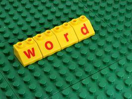 Comment faire pour imprimer un document Word à un fichier image