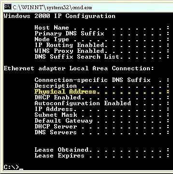 Comment trouver votre adresse MAC