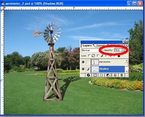 Comment faire une ombre réaliste dans Photoshop