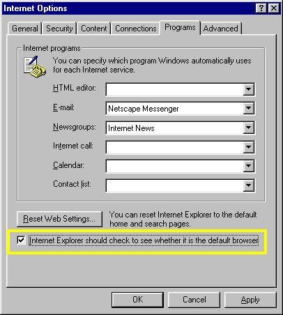 Comment faire pour modifier les paramètres Internet dans Windows XP