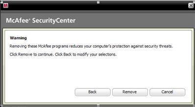 Comment faire pour supprimer McAfee à partir de votre PC