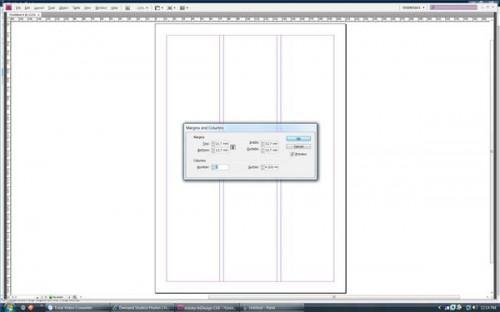 Comment faire des colonnes dans InDesign