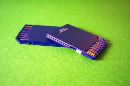 Comment faire pour supprimer des fichiers d'une carte mémoire SD