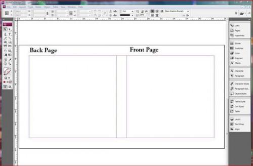Comment faire une carte de voeux dans Adobe Indesign