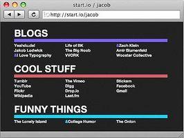 Comment faire pour créer votre propre Démarrer ou navigateur Page d'accueil