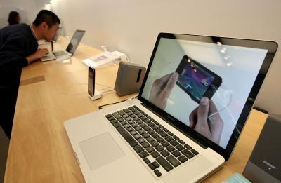 Comment faire pour enregistrer une image à l'aide d'un MacBook Pro