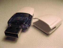 Comment utiliser une mémoire Flash Drive Comme Avec Linux OS sur un PC