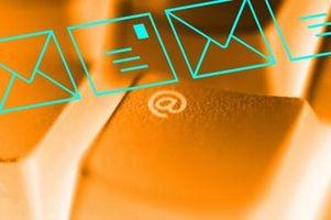 Comment faire pour configurer un compte de messagerie et de trouver le serveur entrant