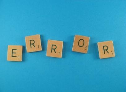 """Qu'est-ce que """"Erreur d'application"""" moyenne dans les logiciels informatiques?"""