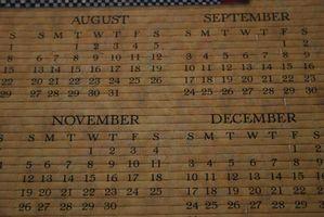 Comment créer un modèle de calendrier
