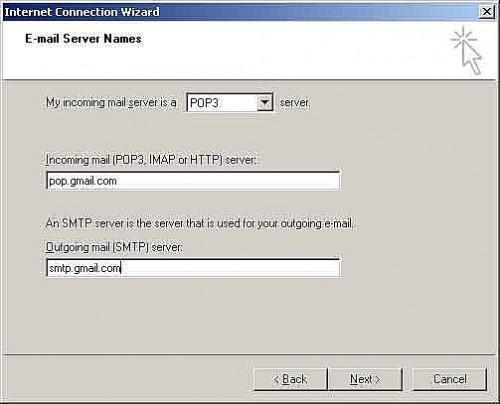 Comment configurer Gmail dans Outlook Express
