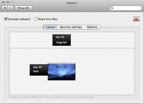 Comment contrôler deux Mac avec une souris et un clavier en utilisant téléport