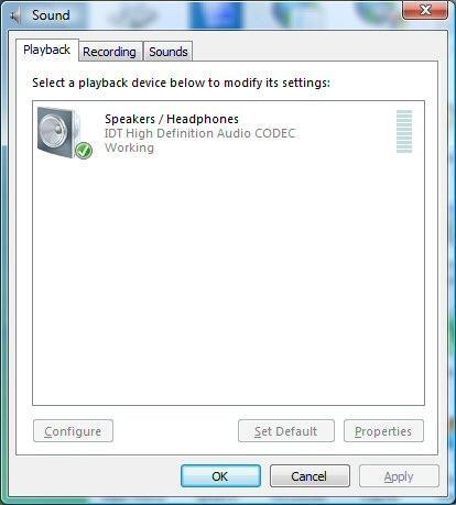 Comment réactiver Haut-parleurs sur un ordinateur Windows Vista