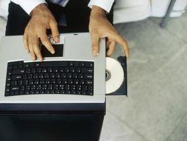 Comment ouvrir un lecteur de DVD sur un ordinateur portable HP