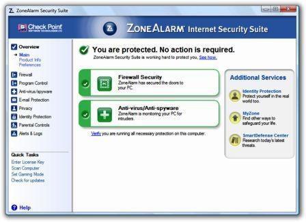 Comodo Firewall Pro vs. Zone Alarm