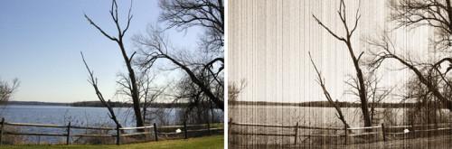 Old Effets film dans Photoshop