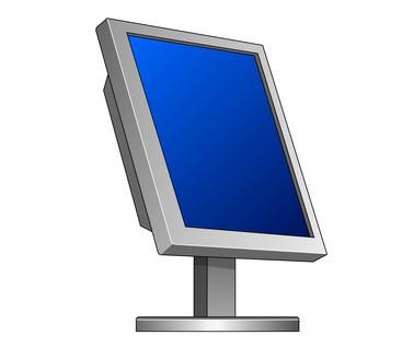 Comment faire pour déplacer l'écran sur un ordinateur portable Toshiba