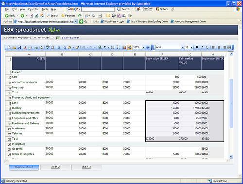 Fonctions de différentes catégories dans Excel