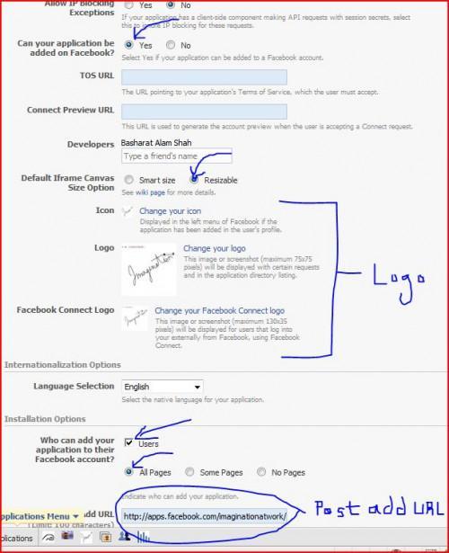 Comment faire pour créer une application Facebook